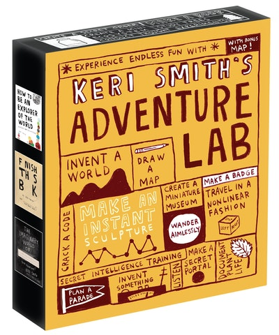 Keri Smith's Adventure Lab (Boxed Set)
