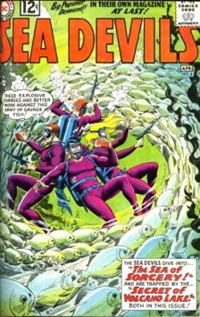 Showcase Presents Sea Devils Vol. 1