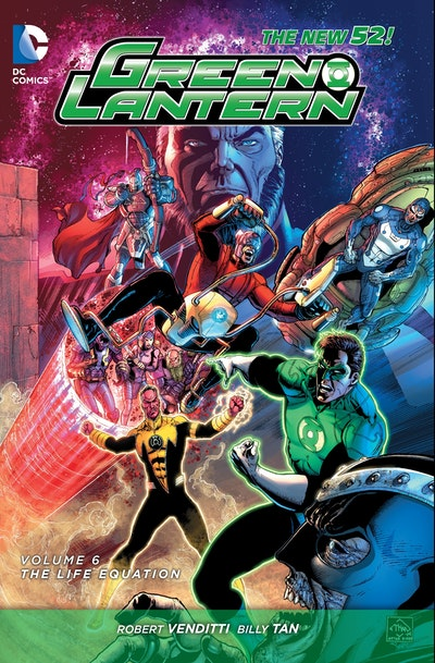 Green Lantern Vol. 6 The Life Equation (The New 52)