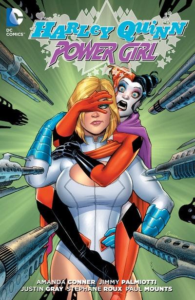 Harley Quinn And Power Girl