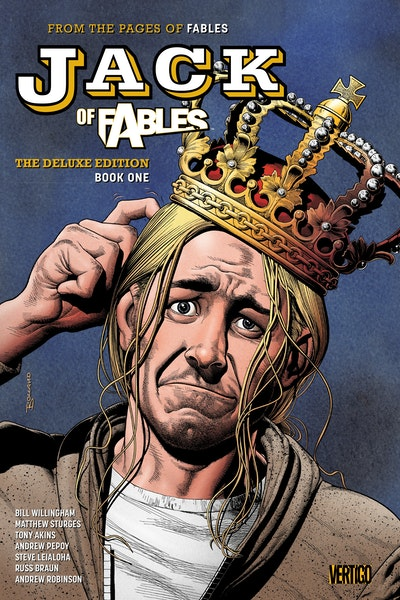 Jack Of Fables The Deluxe Edition Book One