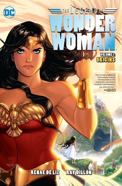 The Legend Of Wonder Woman Origins
