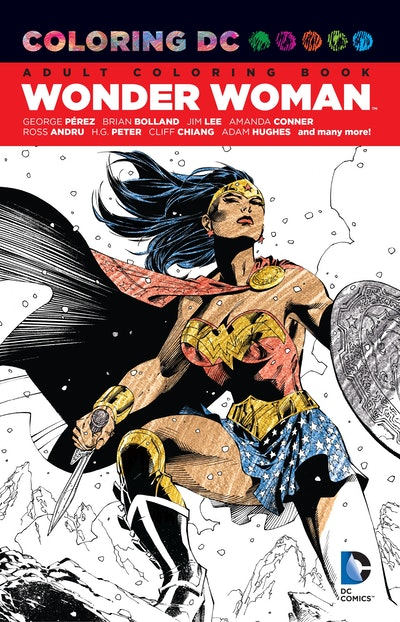 Coloring Dc Wonder Woman