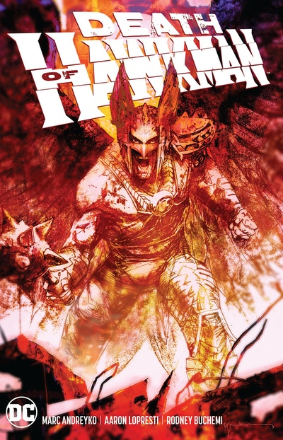 The Death of Hawkman