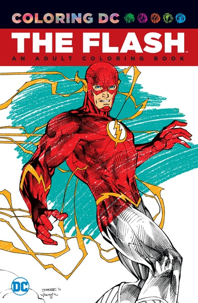 Hi Res Cover Flash An Adult Coloring Book