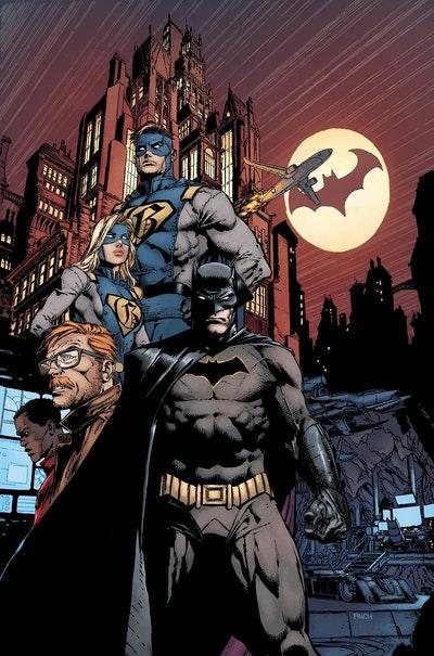 Batman The Rebirth Deluxe Edition Book 1