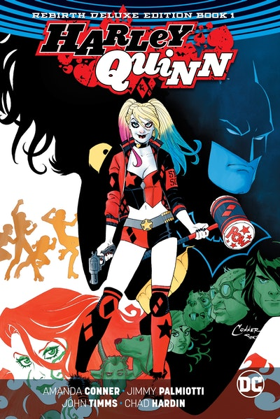 Harley Quinn The Rebirth Deluxe Edition Book 1
