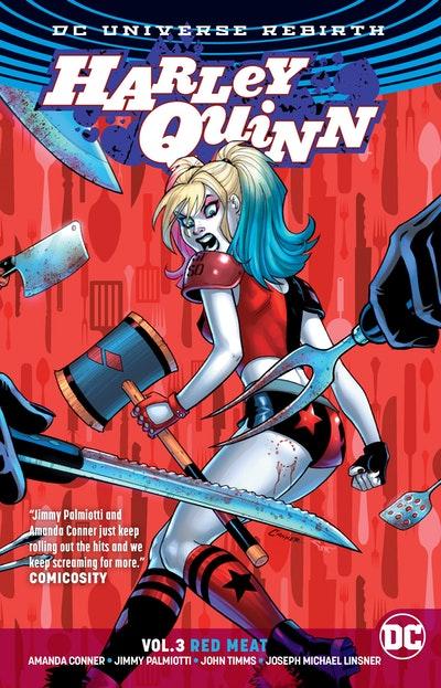 Harley Quinn Vol. 3 Red Meat (Rebirth)