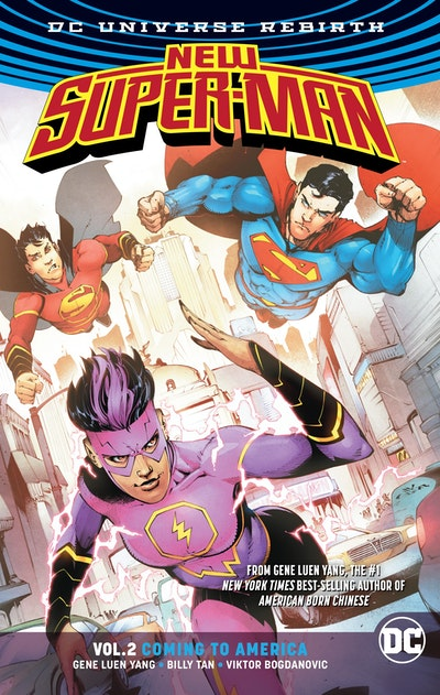 New Super-Man Vol. 2 Coming To America (Rebirth)