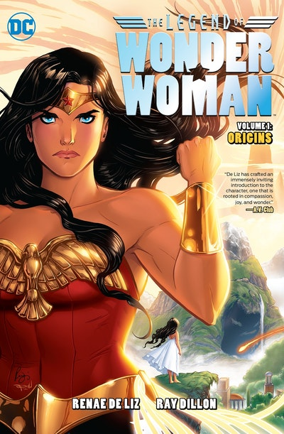 The Legend Of Wonder Woman Origins