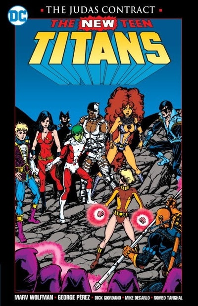 New Teen Titans The Judas Contract New Edition