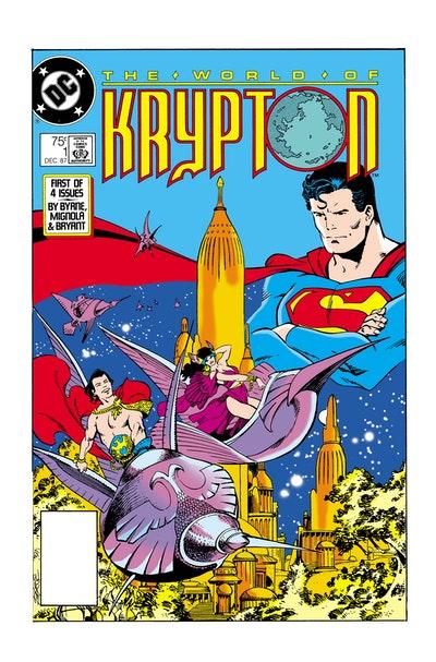 Superman The Many Worlds Of Krypton