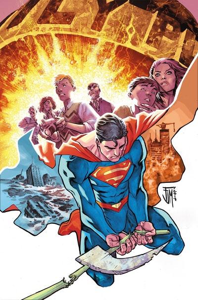 Superman Action Comics The Rebirth Deluxe Edition Book 3