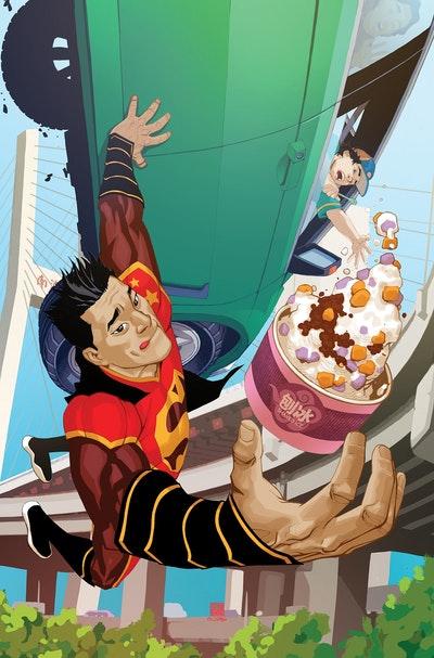 New Super-Man Vol. 3 Equilibrium