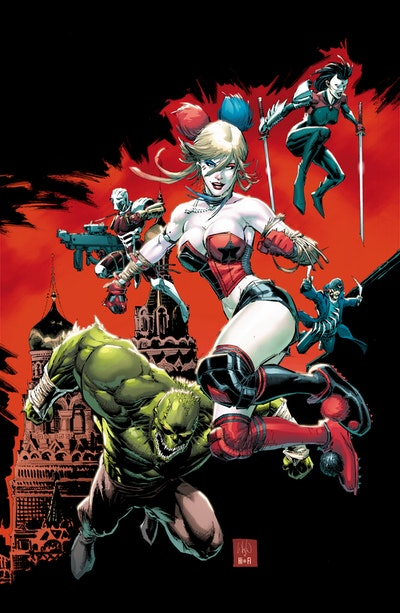 Suicide Squad The Rebirth Deluxe Edition Book 3
