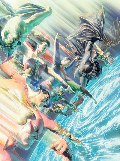Justice League The World's Greatest Superheroes By Alex Ross & Paul Dini