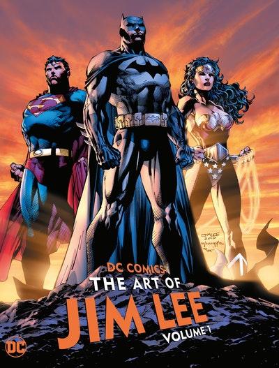 DC Comics The Art of Jim Lee Vol. 1