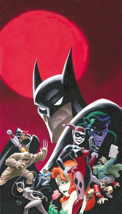 Dc Comics The Art Of Bruce Timm