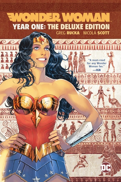 Wonder Woman Year One Deluxe Edition
