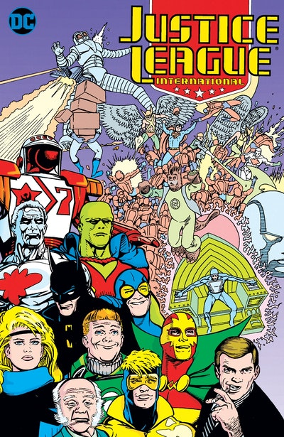 Justice League International Book One Born Again