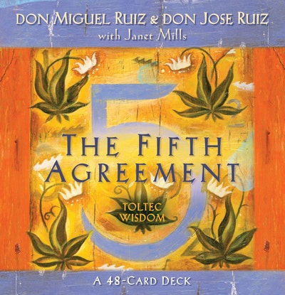 The Fifth Agreement Cards By Don Miguel Ruiz Penguin Books Australia