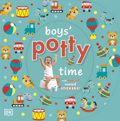 Boy's Potty Time