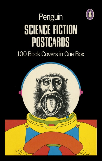 Penguin Random House Book Cover Competition ~ Penguin science fiction postcards book covers in one