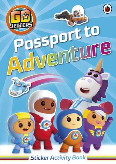 Go Jetters: Passport To Adventure! Sticker Activity Book