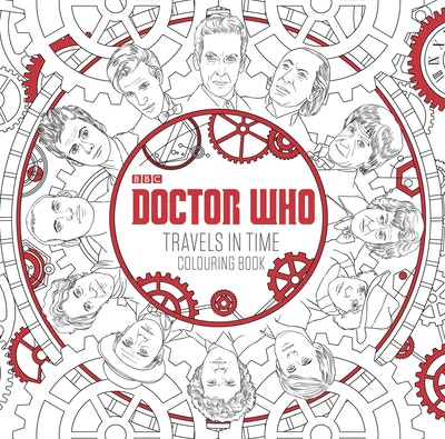 Doctor Who: Travels in Time Colouring Book