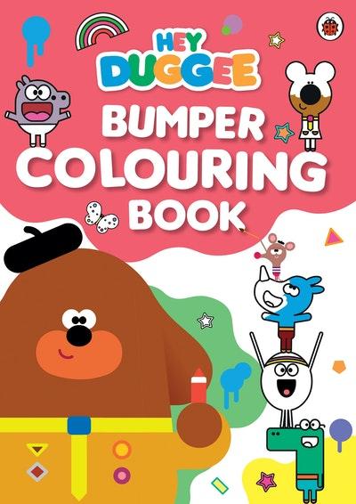 Hey Duggee: Duggee's Bumper Colouring Book
