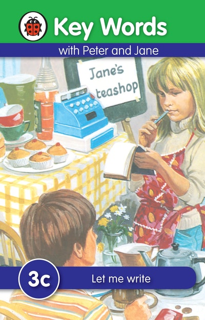 Ladybird Key Words With Peter And Jane~ 3c~ Let Me Write