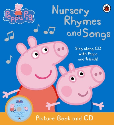 Peppa Pig~ Nursery Rhymes And Songs~ Book And Cd
