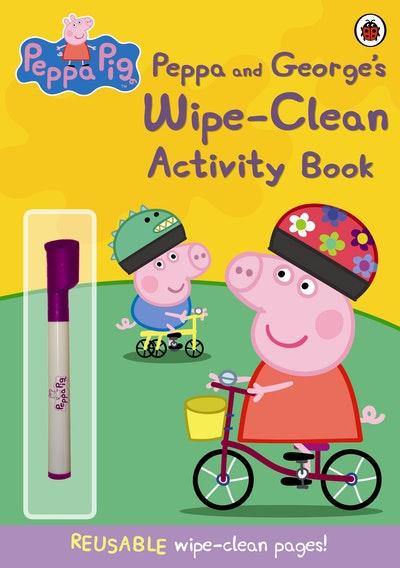 Peppa Pig~ Peppa And George's Wipe-Clean Activity Book