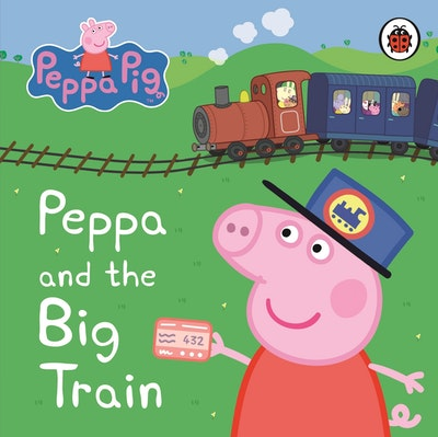 Peppa Pig~ Peppa And The Big Train