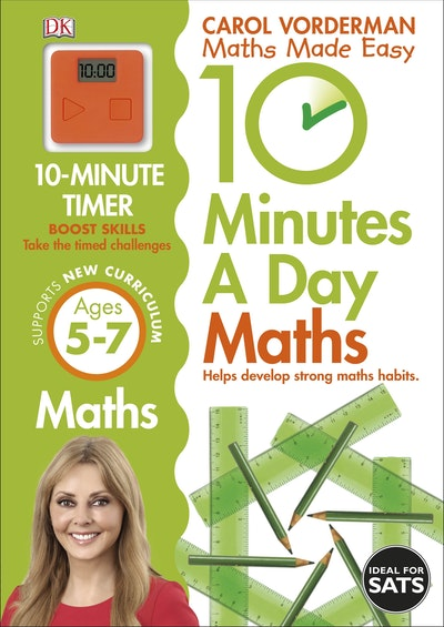 10 Minutes A Day Maths 5-7