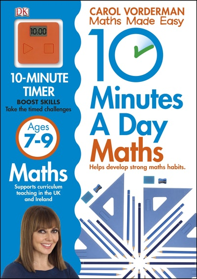 10 Minutes A Day Maths 7-9