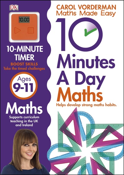 10 Minutes A Day Maths 9-11