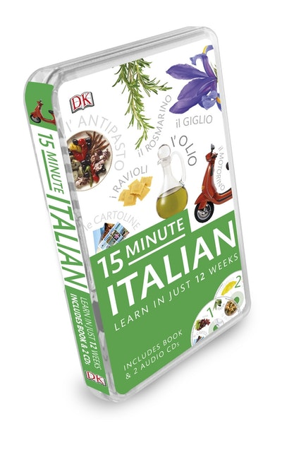 15 Minute Italian: Learn in Just 12 Weeks: Book and CD Pack