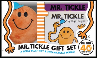 Mr Men and Little Miss: Mr Tickle Book and Plush Gift Set