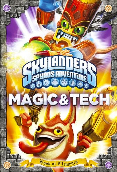 Skylanders Universe: Book of Elements: Magic and Tech