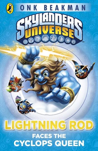 Skylanders Universe Mask Of Power Lightning Rod Faces The Cyclops
