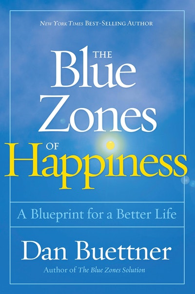 Penguin Book Cover Zone : The blue zones of happiness by dan buettner penguin