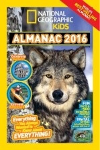 National Geographic Kids Almanac 2016, International Edition