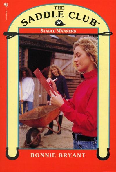 Saddle Club Book 28: Stable Manners