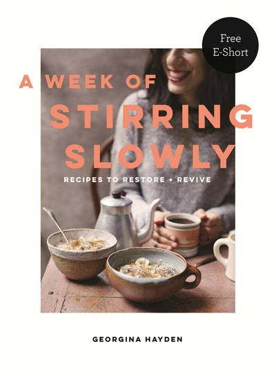 A Week of Stirring Slowly