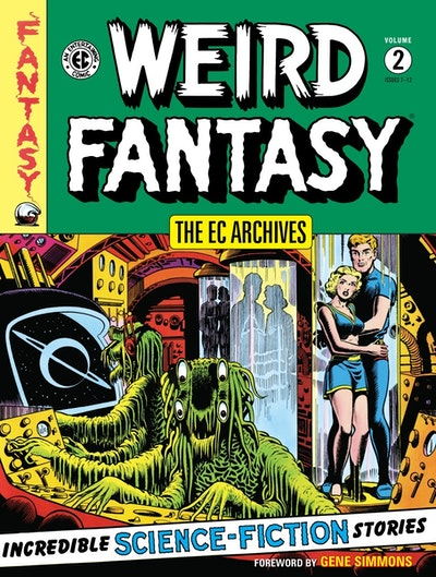 The Ec Archives Weird Fantasy Volume 2