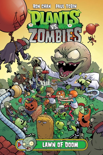 Plants Vs. Zombies Volume 8 Lawn Of Doom