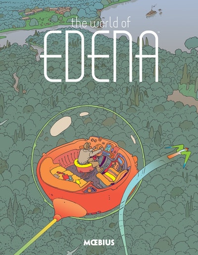 Moebius Library The World Of Edena