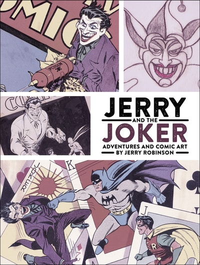 Jerry And The Joker Adventures And Comic Art