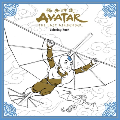 Hi Res Cover Avatar The Last Airbender Adult Coloring Book